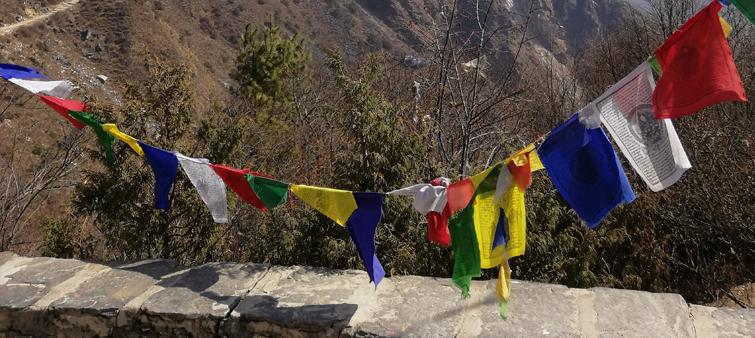 kenmerkende vlaggetjes nepal